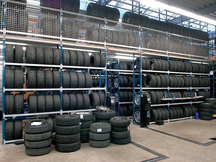 как хранить резину без дисков зимой в гараже