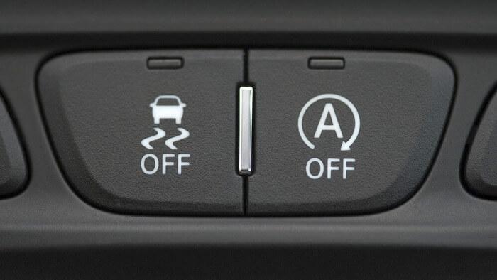 что означает кнопка esp в машине