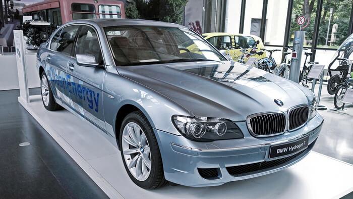 существует ли автомобиль на водородном топливе