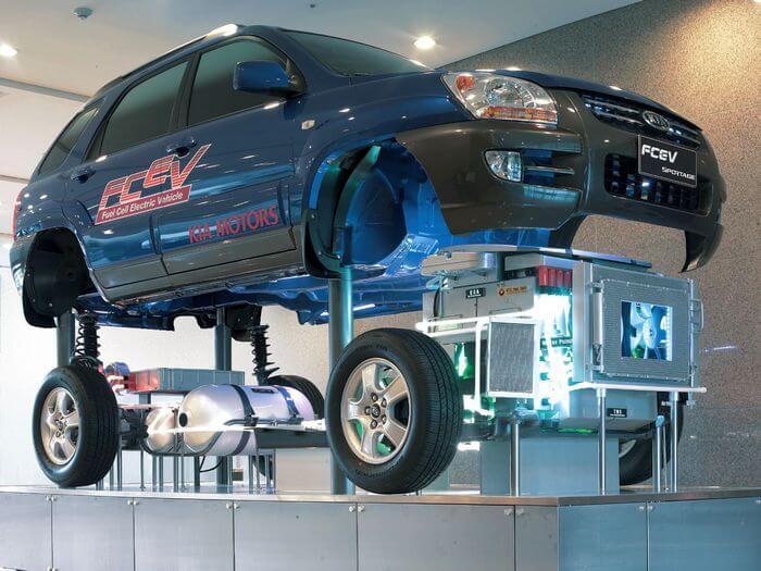 водородный автомобиль grove
