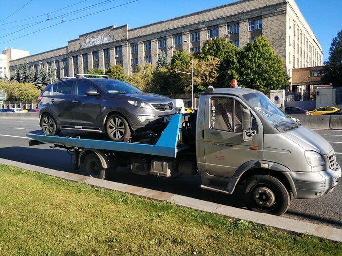 Как перевозят авто с АКПП