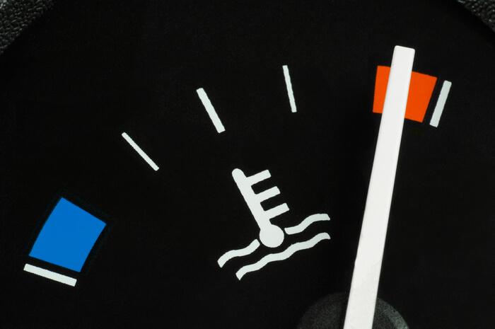 Перегрев мотора на панели приборов в авто