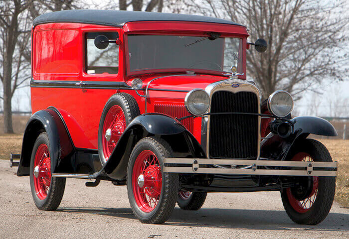 Раритетный Ford 1930-1931 Model A Deluxe Delivery
